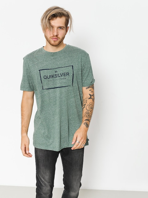 Quiksilver T-shirt Quik In The Box (dark forest heather)