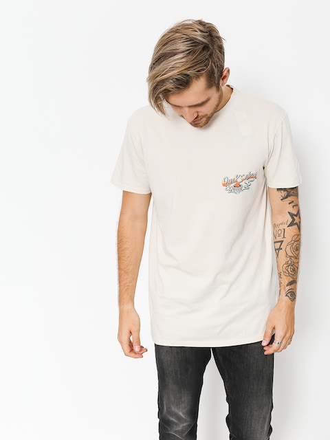 Quiksilver T-Shirt Hot Sake (oatmeal)