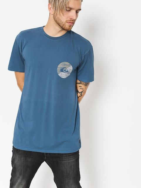 Quiksilver T-shirt Shook Up (dark denim)