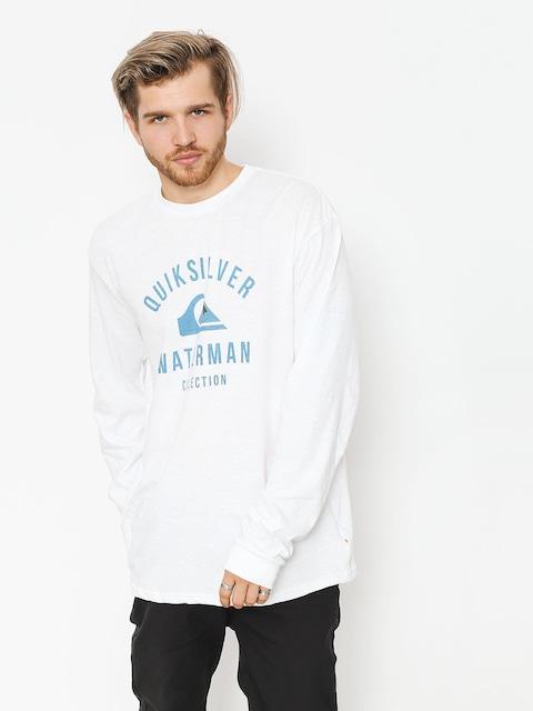 Quiksilver Longsleeve Established (white)
