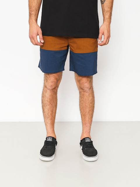 Brixton Shorts Convoy Trunk (washed navy/copper)