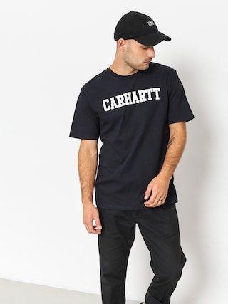 Carhartt WIP T-shirt College (dark navy/white)