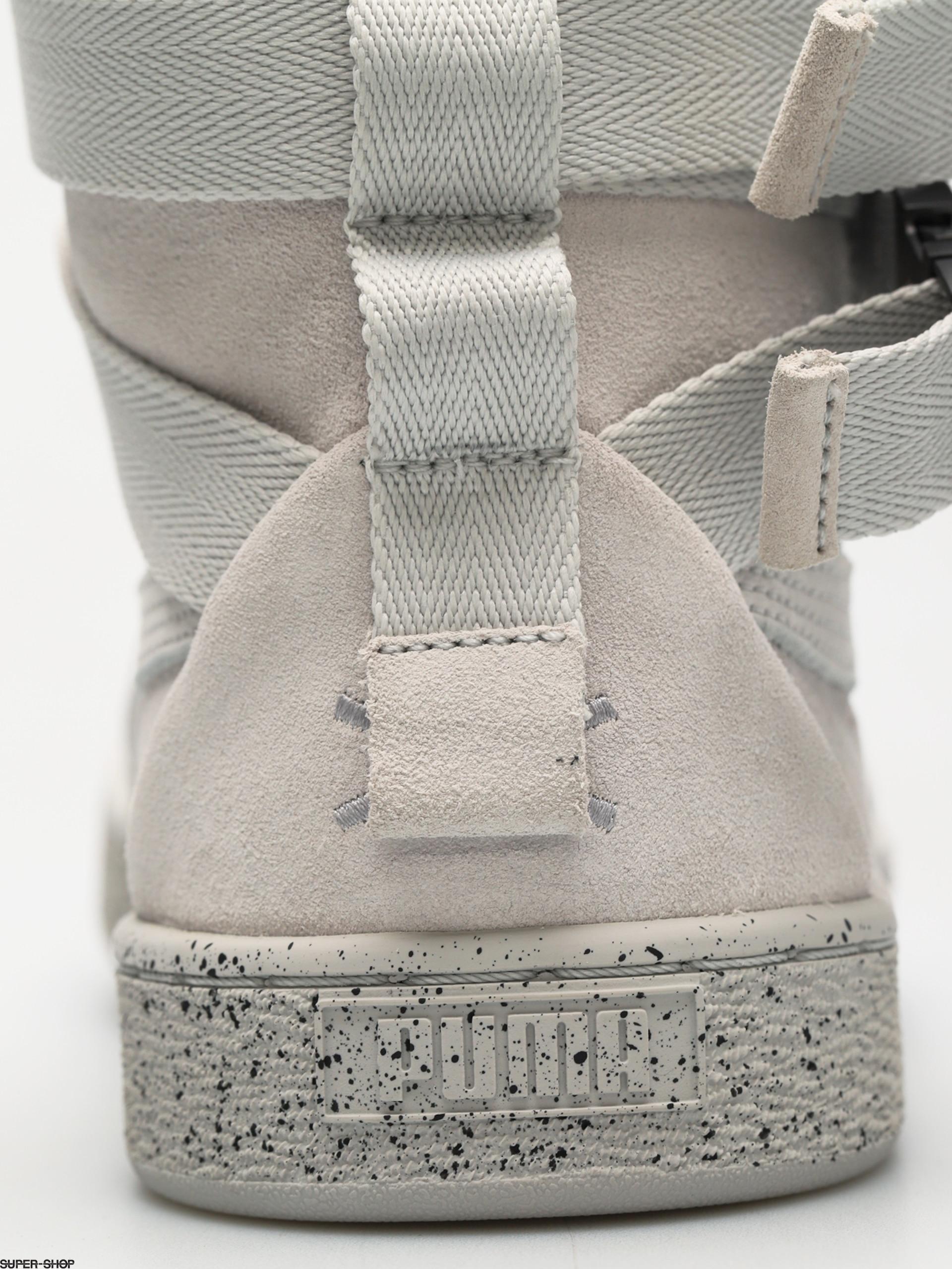 Gray Gray Gray Suede Xo Puma Classic X Schuhe glacier