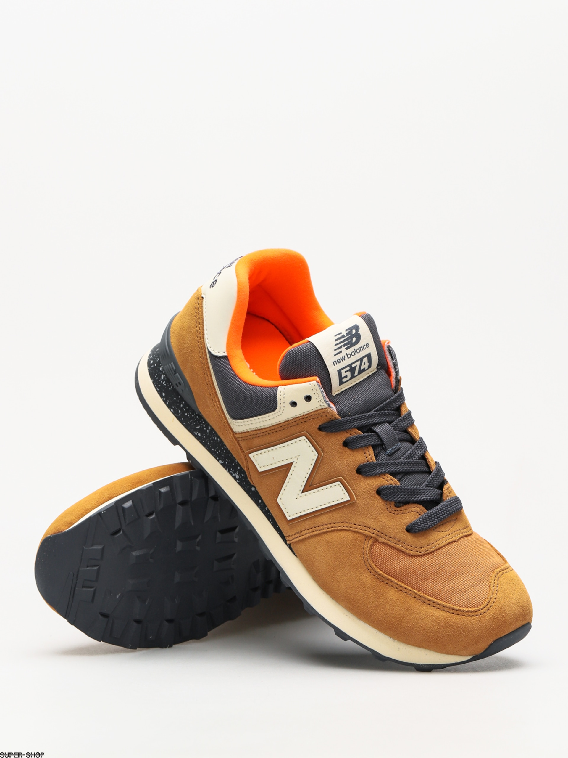 0944176f59 sale new balance shoes 574 brown sugar d34ec 9503d