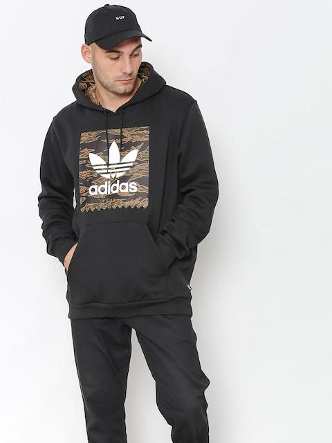 adidas Hoodie Camo Bb HD (black/camo print/collegiate orange)