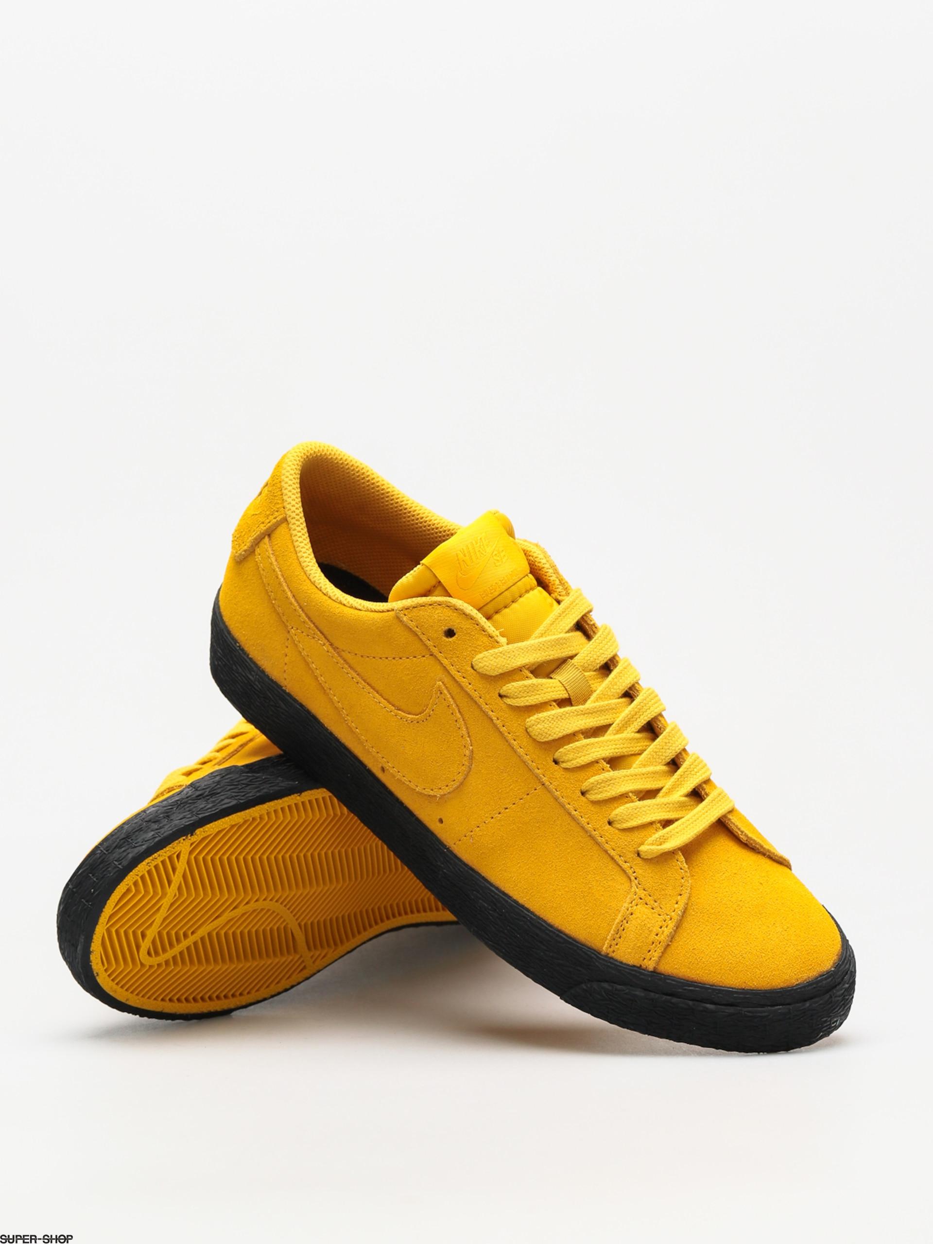 nike sb blazer low yellow ochre