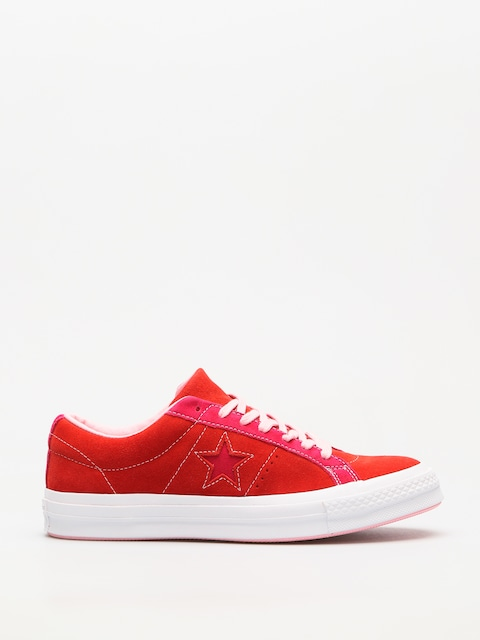 Converse Chucks One Star Ox (enamel red/pink pop)