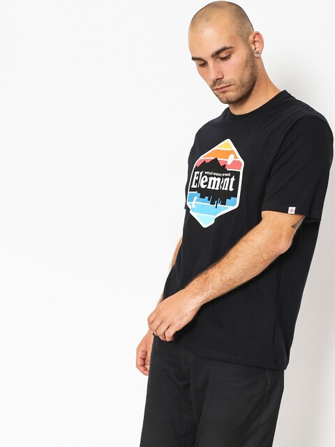 Element T-shirt Dusk (flint black)