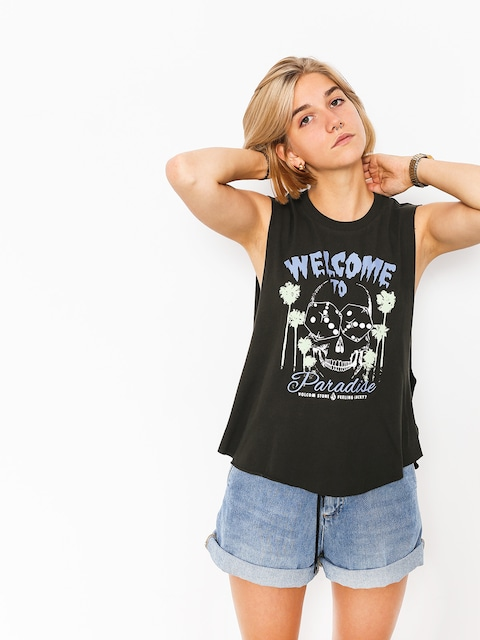 Volcom T-Shirt Magnetic Feels Wmn (vbk)