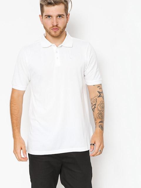 Nike SB Polo t-shirt Sb Dri Fit Pique (white)