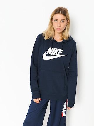 Nike Sportswear Rally Sweatshirt Wmn (obsidian/obsidian/white)