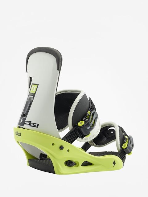 Burton Snowboard bindings Freestyle (mtn dude green)