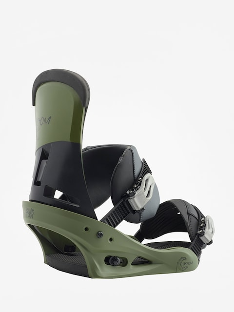 Burton Snowboard bindings Custom (true grit)