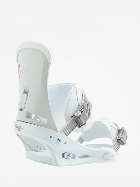 Burton Snowboard bindings Custom (white)