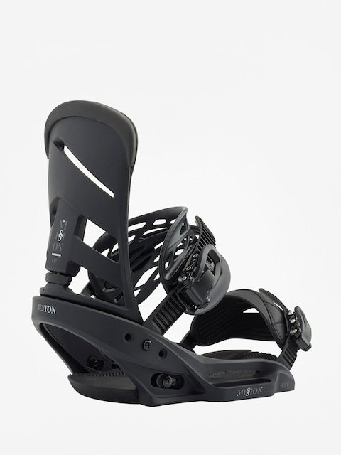 Burton Snowboard bindings Mission Est (blackish)