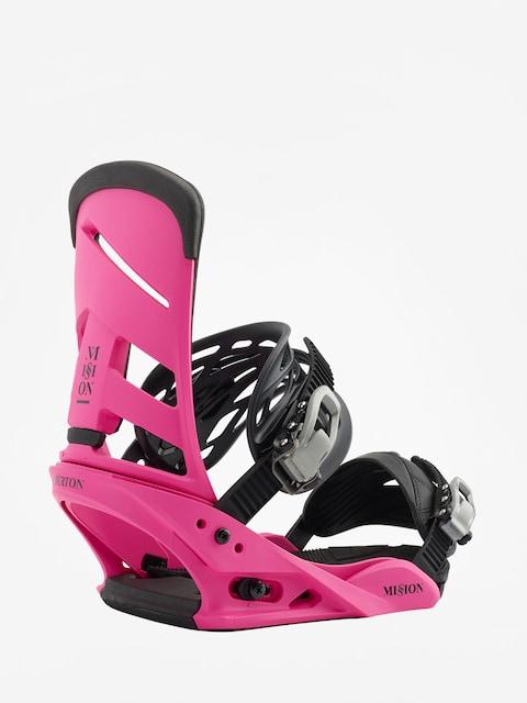 Burton Snowboard bindings Mission (pink)