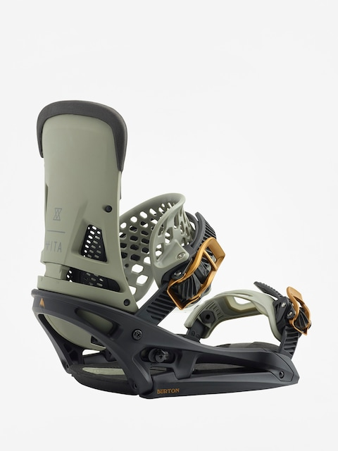 Burton Snowboardbindung Malavita Est (black/gray)