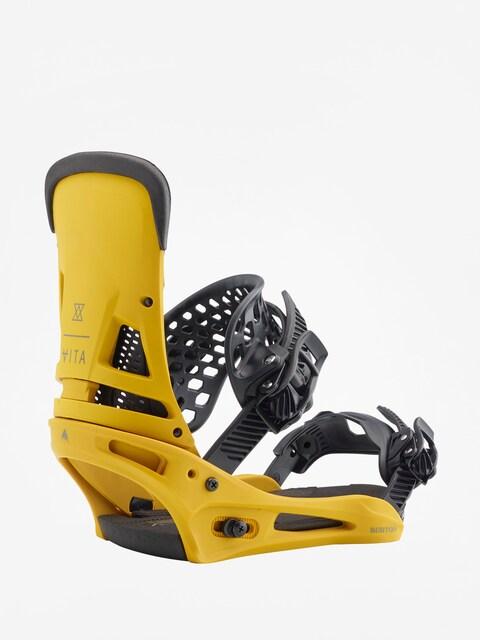 Burton Snowboardbindung Malavita (colonel mustard)