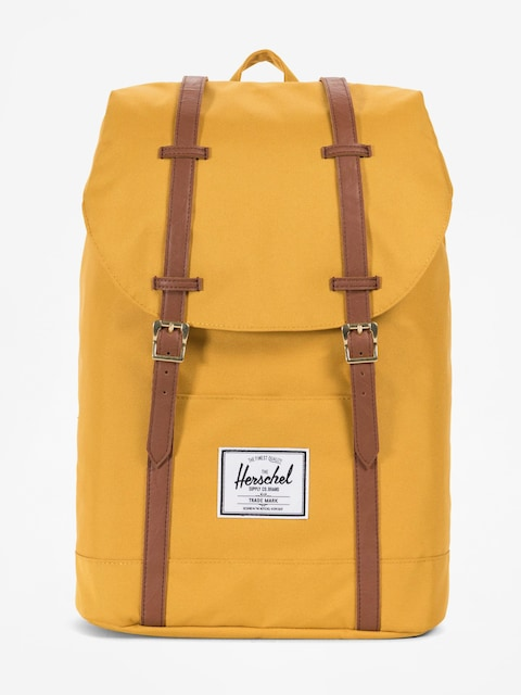 Herschel Supply Co. Backpack Retreat (arrowwood/tan synthetic leather)