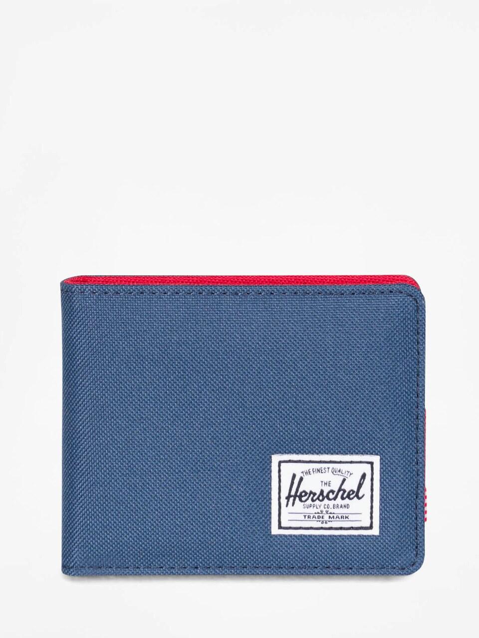 Herschel Roy Plus Coin RFID Wallet Geldbörse Black Schwarz Neu