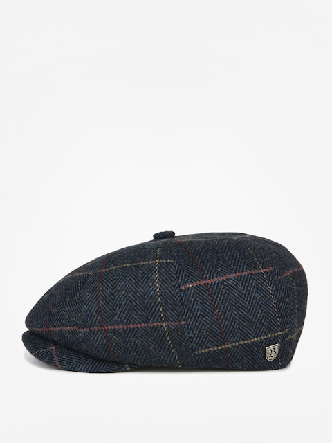 Brixton Flat cap Brood Snap ZD (navy plaid)