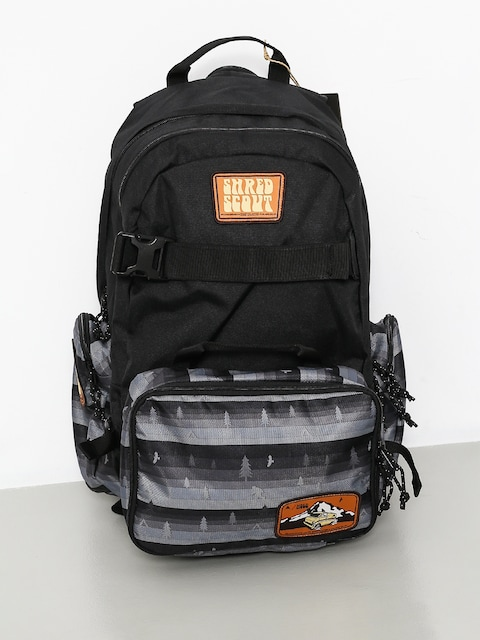 Burton Backpack Hcsc Scout (tree stripe black)