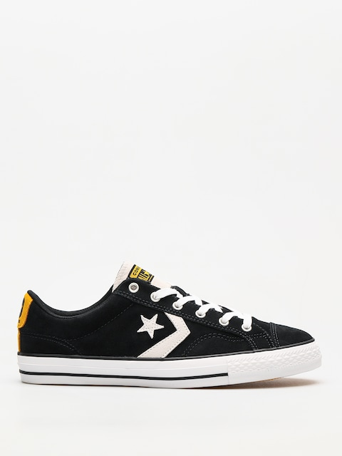 Converse Chucks Star Player Ox (black/white/university gold)