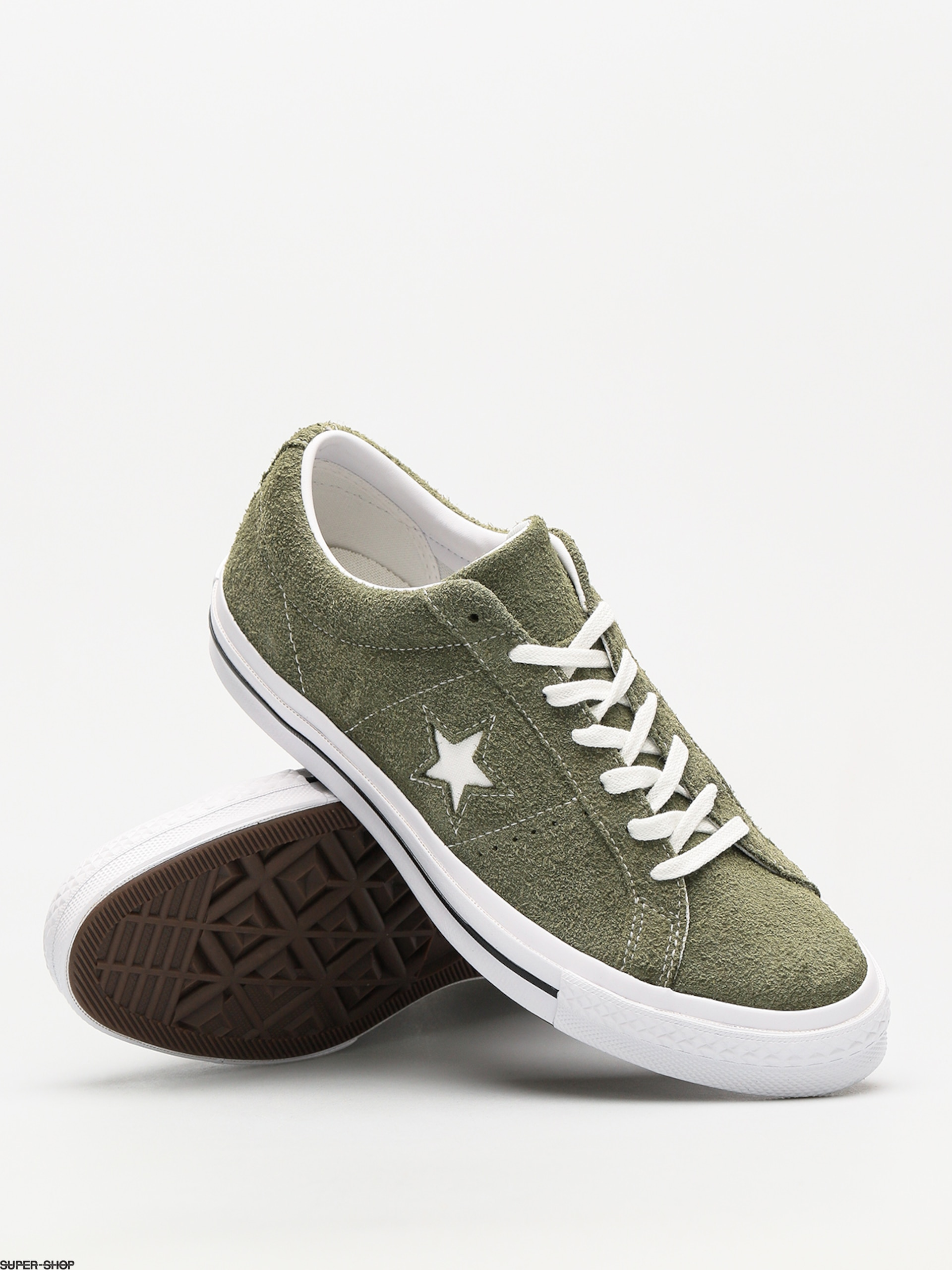 e63f4c28fcbb47 Converse Chucks One Star Ox (field surplus  white  white)