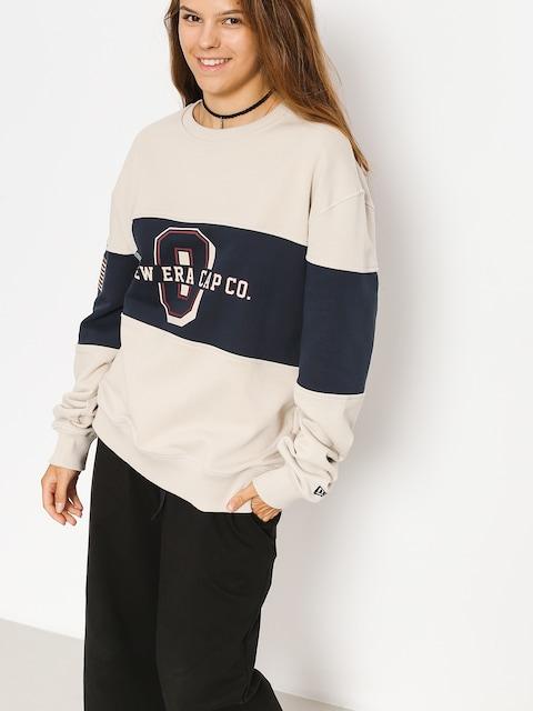 New Era Sweatshirt World (tan/navy)