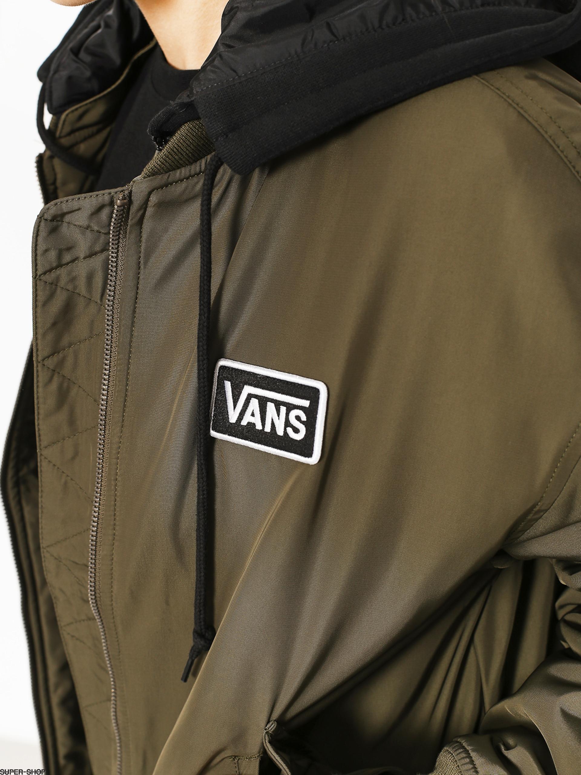 1dcdc1633f Vans Jacket Boom Boom Hood Wmn (grape leaf)