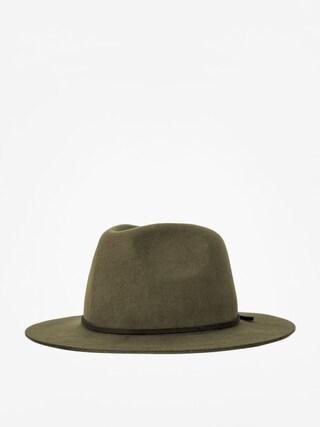 Brixton Hat Wesley Fedora (moss)