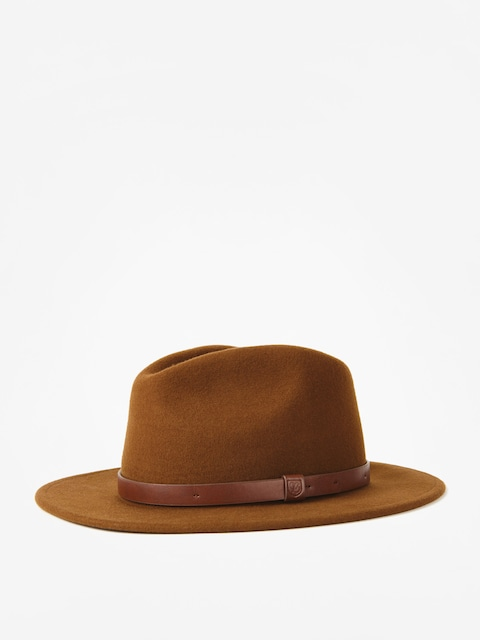 Brixton Hut Messer Fedora (coffee)