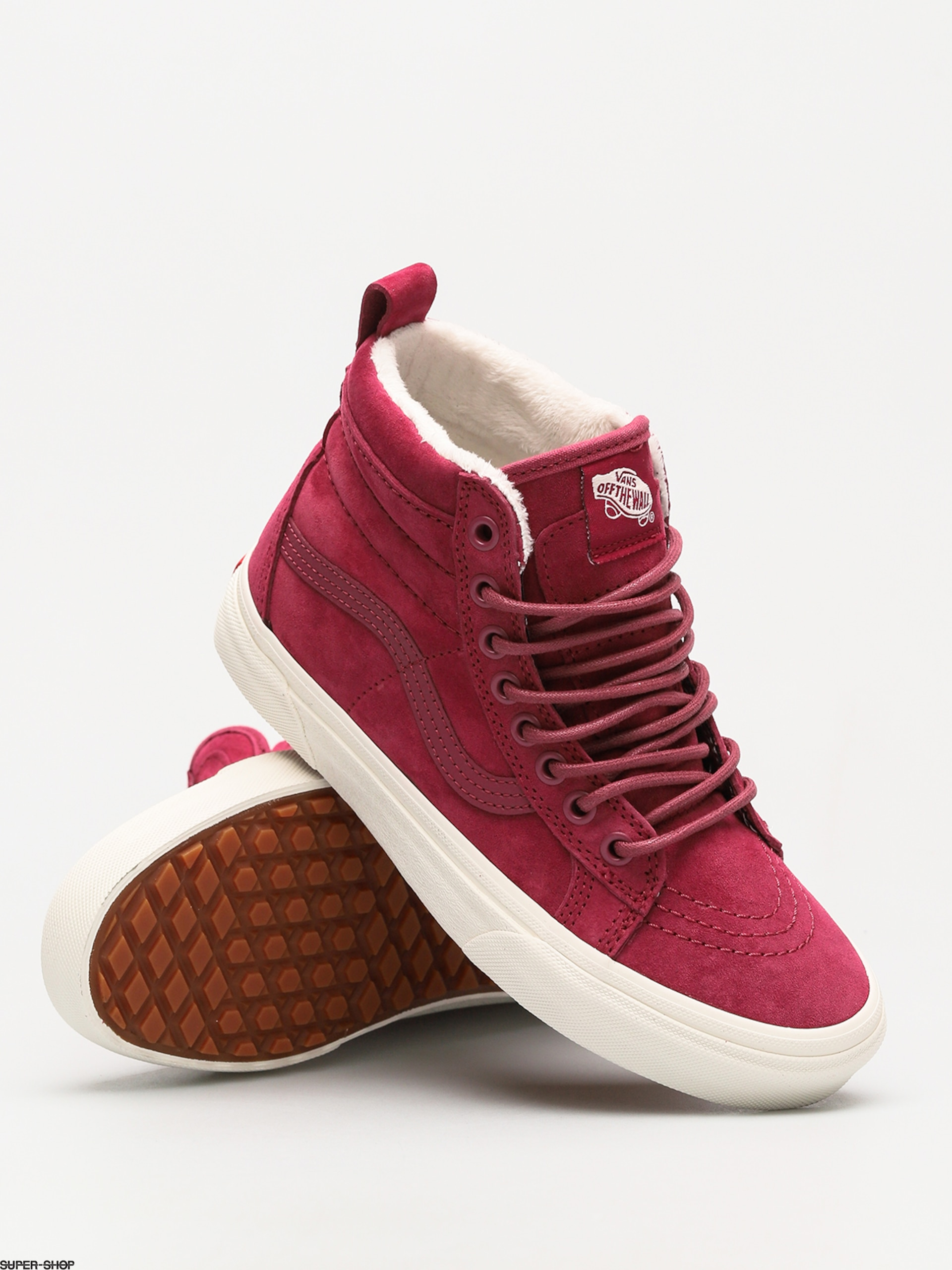 Vans Shoes Sk8 Hi Mte (dry rose marshmallow) 385a823480d