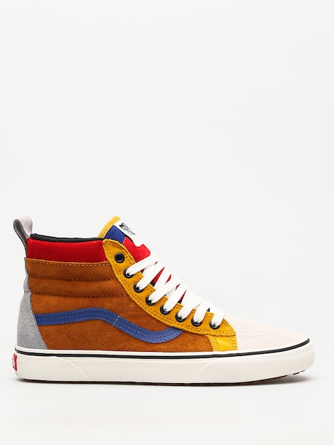 Vans Schuhe Sk8 Hi Mte (sudan brown/mazarine blue)