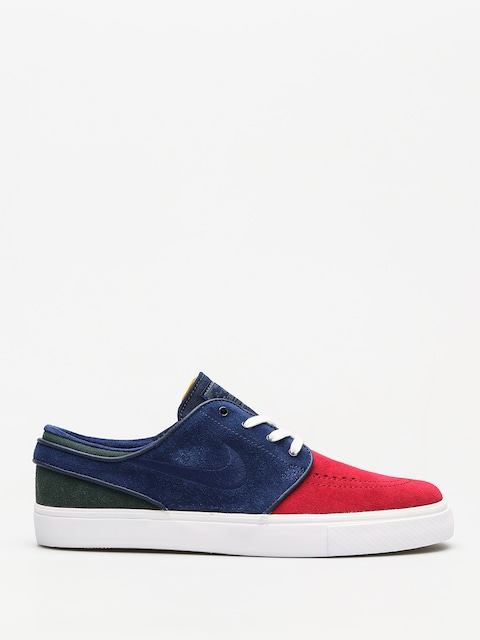 Nike SB Shoes Zoom Stefan Janoski (red crush/blue void white midnight green)