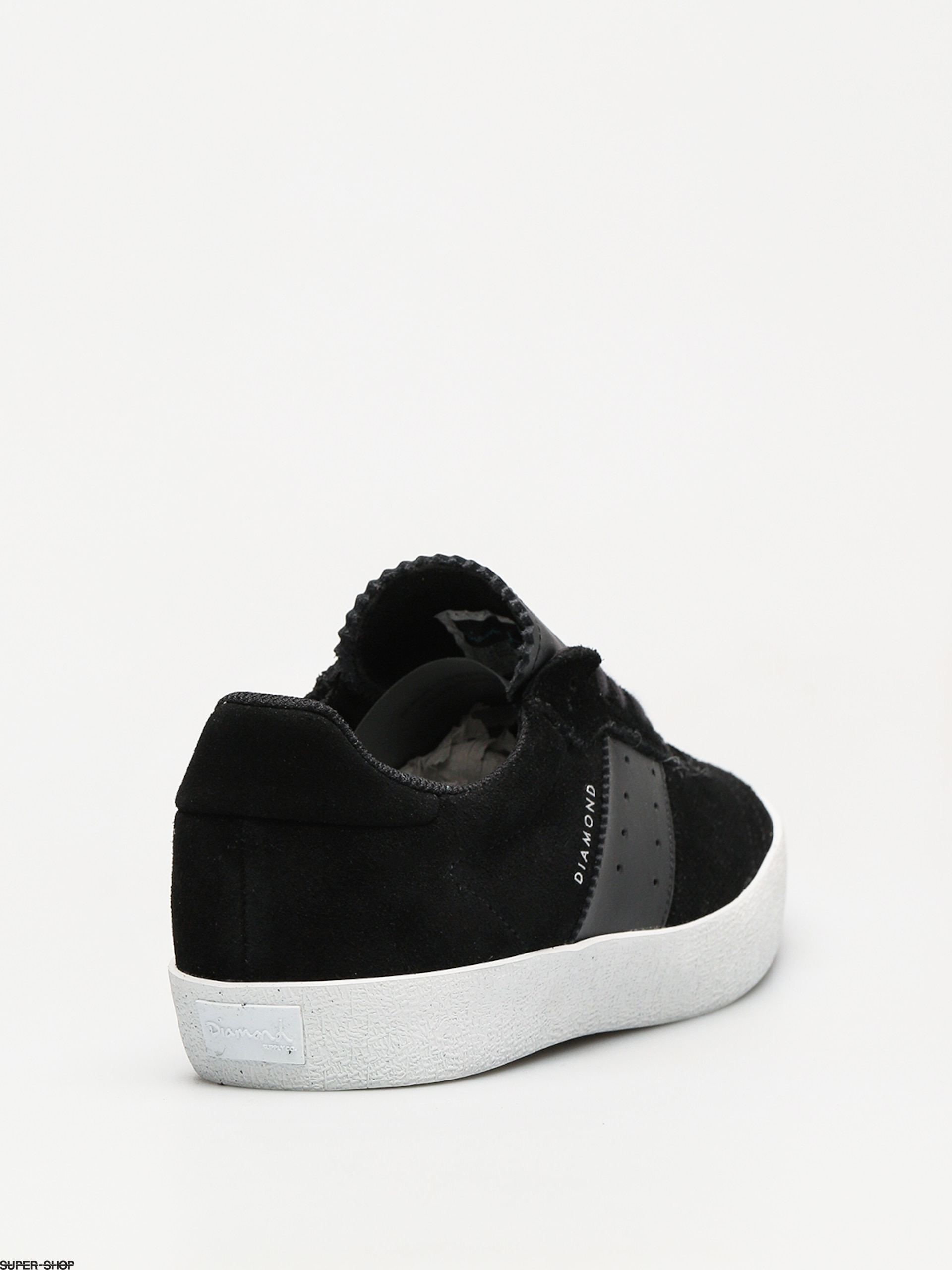 Diamond Supply Co. Shoes Barca Suede (black black) 9130768c169
