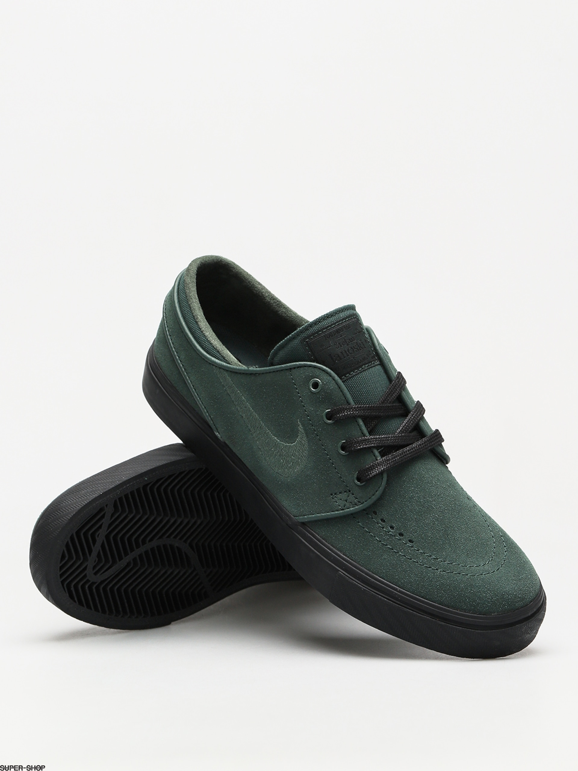 premium selection df9b9 44ddd Nike SB Shoes Zoom Stefan Janoski (midnight green midnight green black)