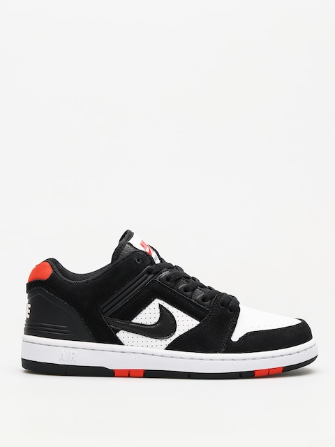 Nike SB Shoes Sb Air Force II Low (black/black white habanero red)