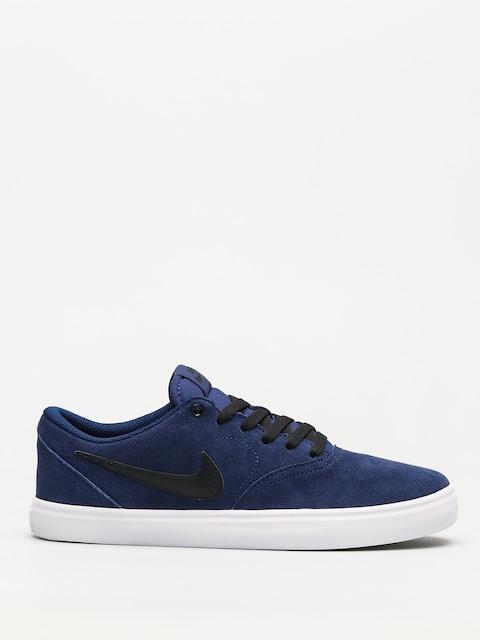 Nike SB Shoes Sb Check Solarsoft (blue void/black white)