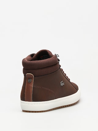 Lacoste Shoes Straightset Insulac 3181 (dark brown/dark brown)