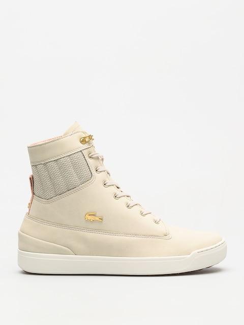Lacoste Schuhe Explorateur Hi 318 1 Wmn (natural/off white)