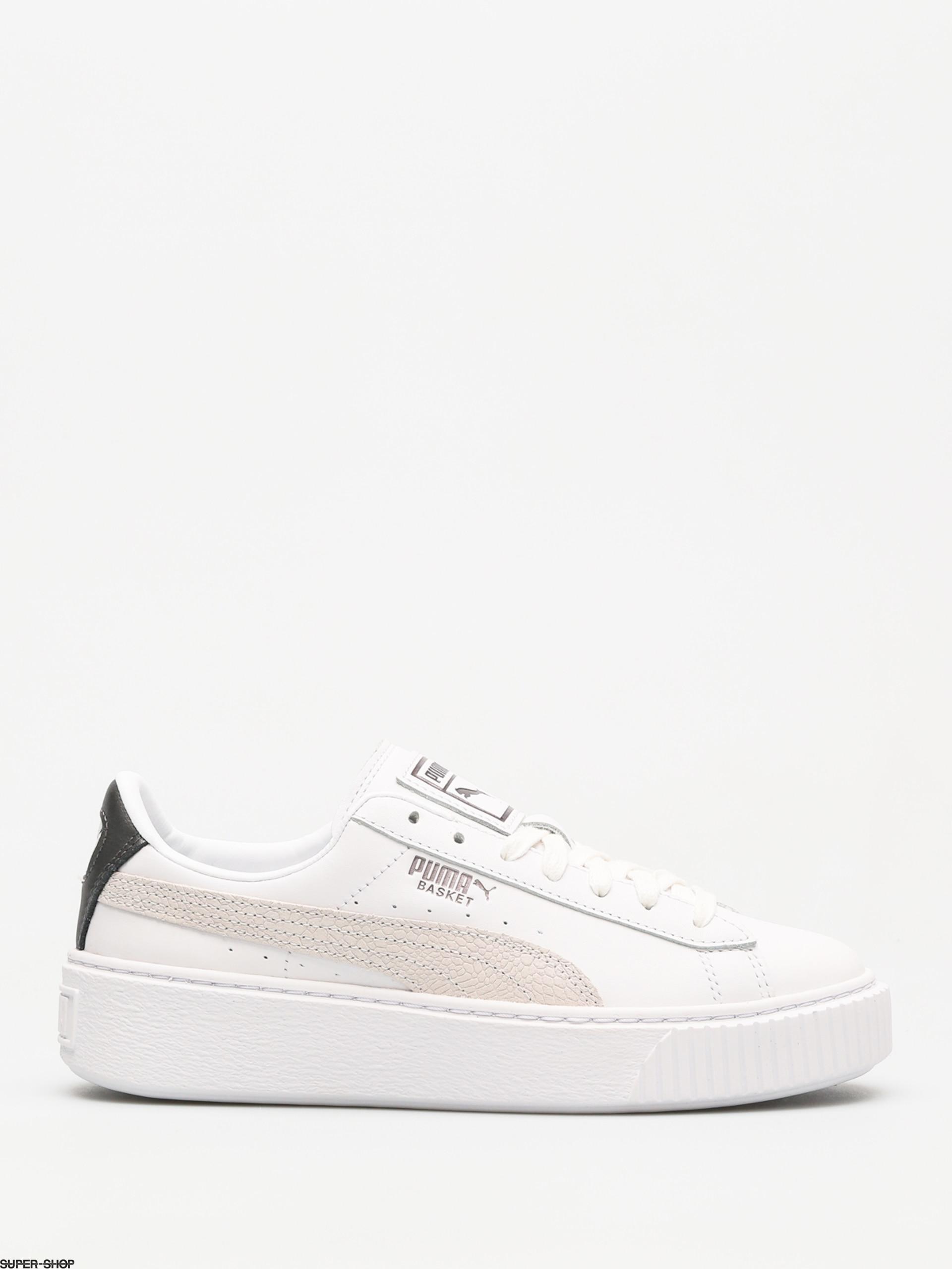 Puma Shoes Basket Platform Wmn