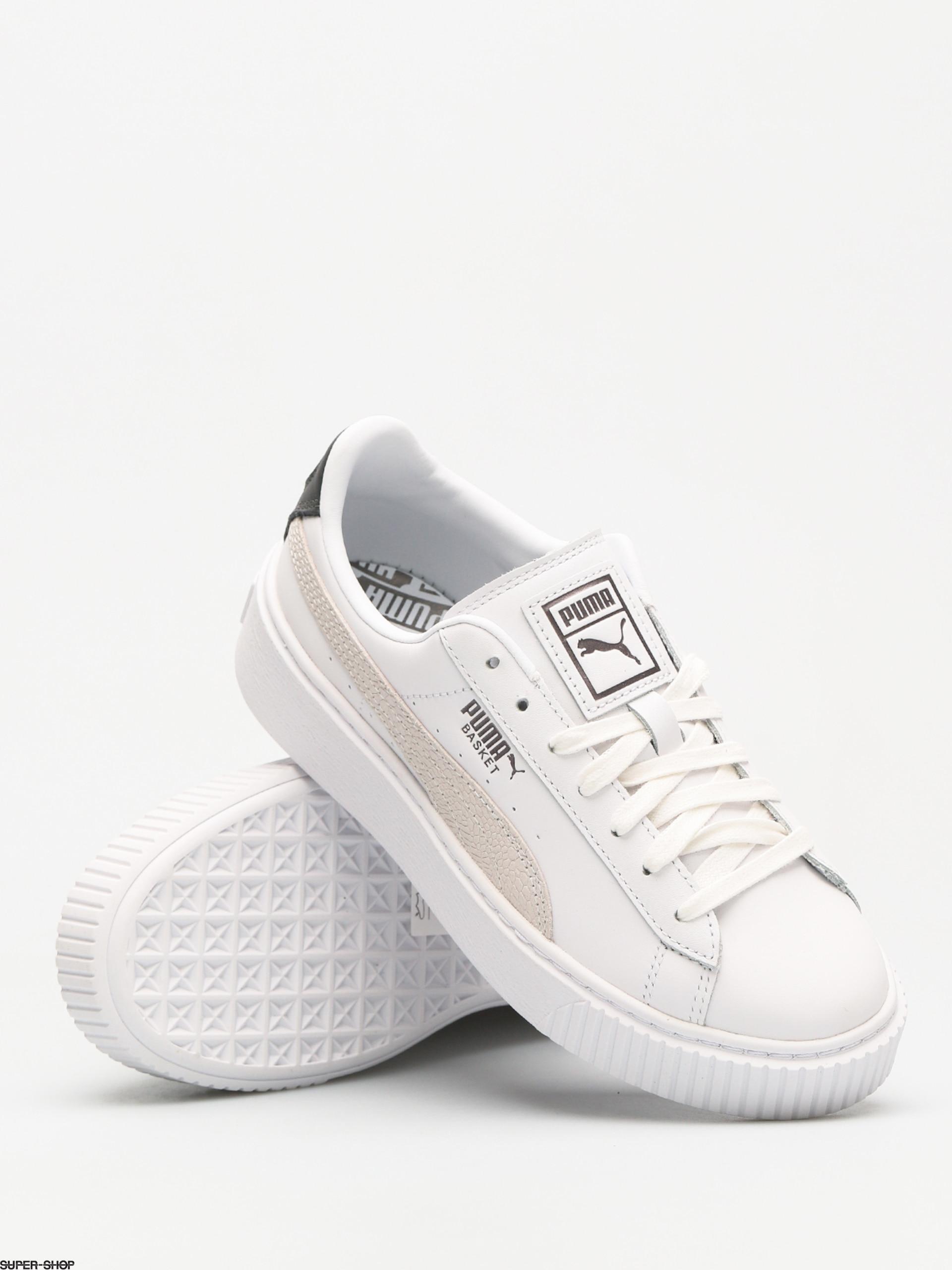 461c8bf1ded Puma Shoes Basket Platform Wmn (euphoria metallic puma)