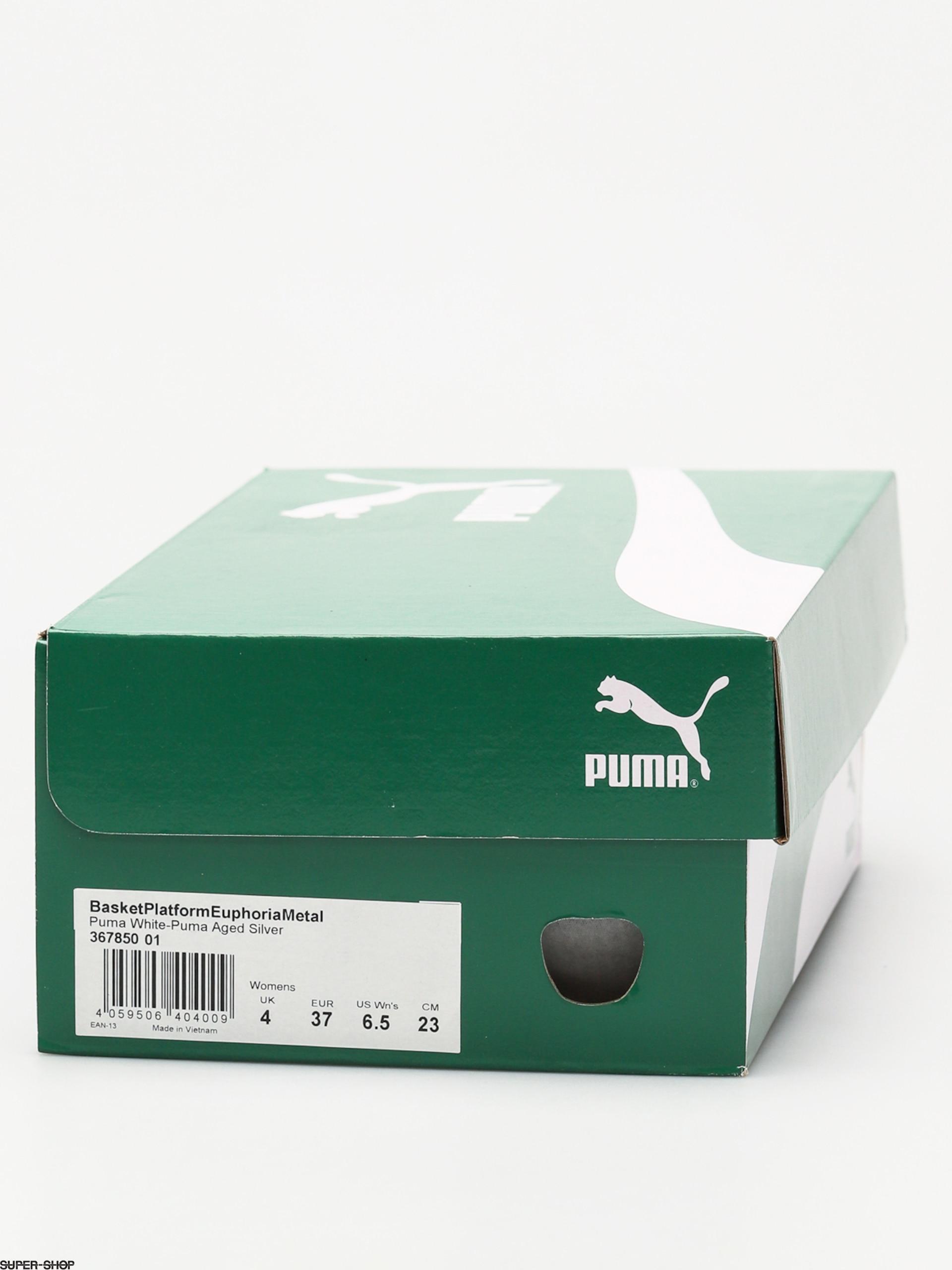 puma select basket platform euphoria metallic