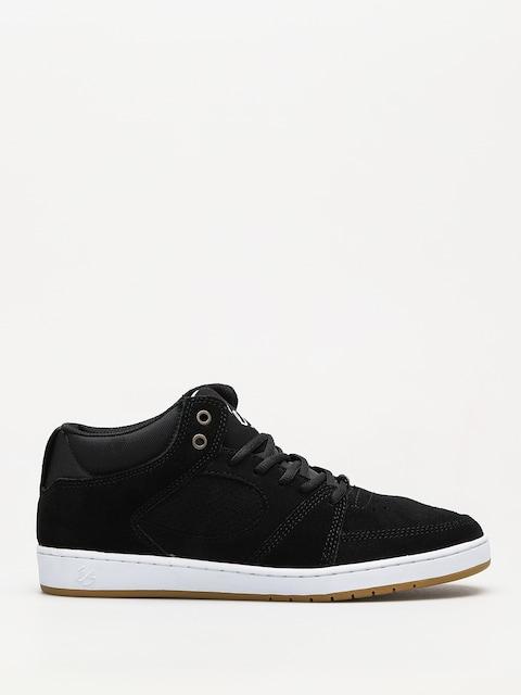Es Schuhe Accel Slim Mid (black/white/gum)