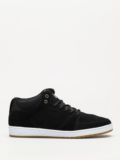 Es Shoes Accel Slim Mid (black/white/gum)