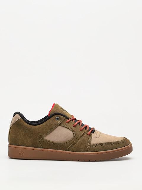 Es Schuhe Accel Slim (brown/tan/gum)
