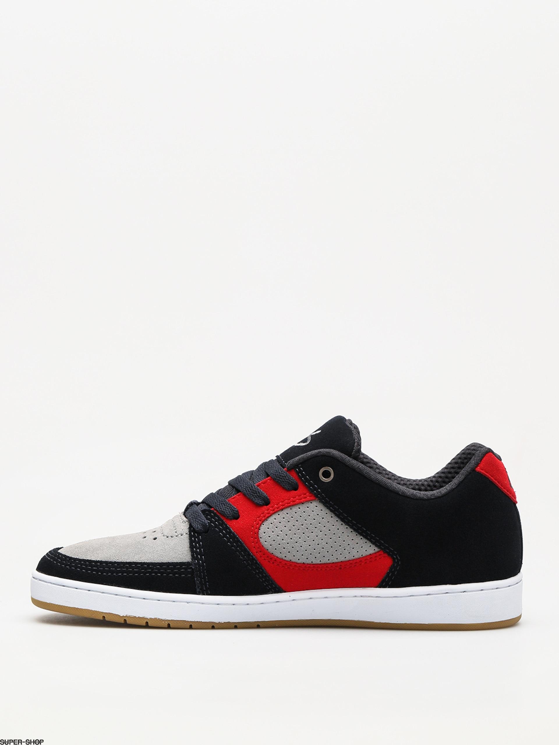 Es Skateboard Shoes Accel Slim Navy//Tan//White