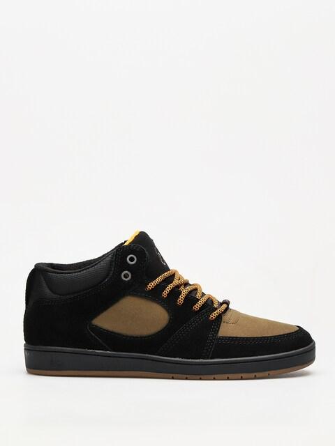 Es Schuhe Accel Slim Mid (black/brown)