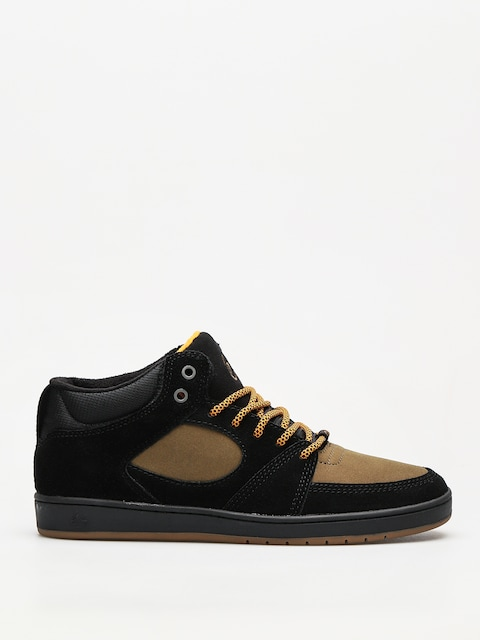 Es Shoes Accel Slim Mid (black/brown)